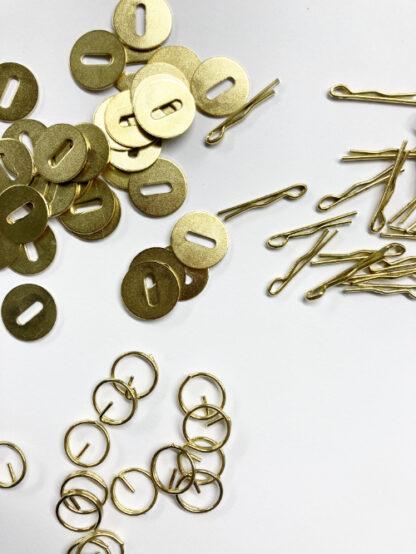split ring B1417, split pin B1416 washer B1415
