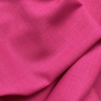 SF11207 Fuchsia Pink Lightweight 100% Wool Challis