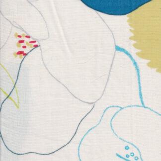 nani IRO big floral waltz print cotton double gauze