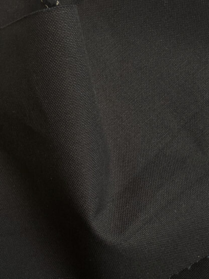 black 440gsm cotton canvas from LG