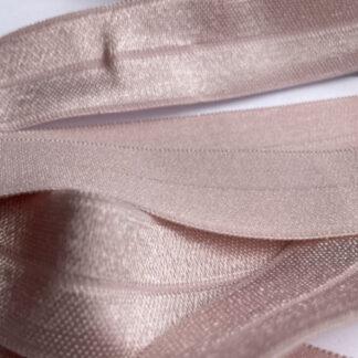 H0014 blush pink fold-over elastic