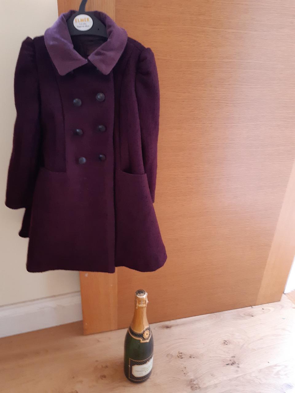 vogue V9043 boiled wool coat