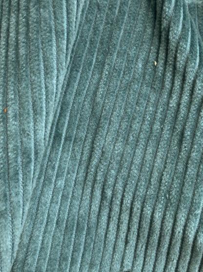 teal sea green jumbo 100% Cotton corduroy