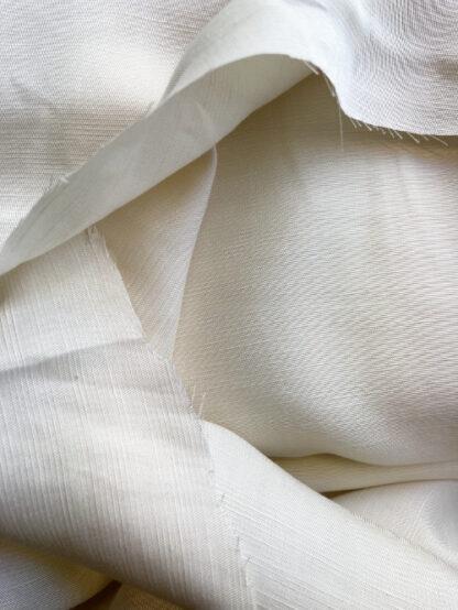 tencel and linen blend drapey sateen dressmaking fabric