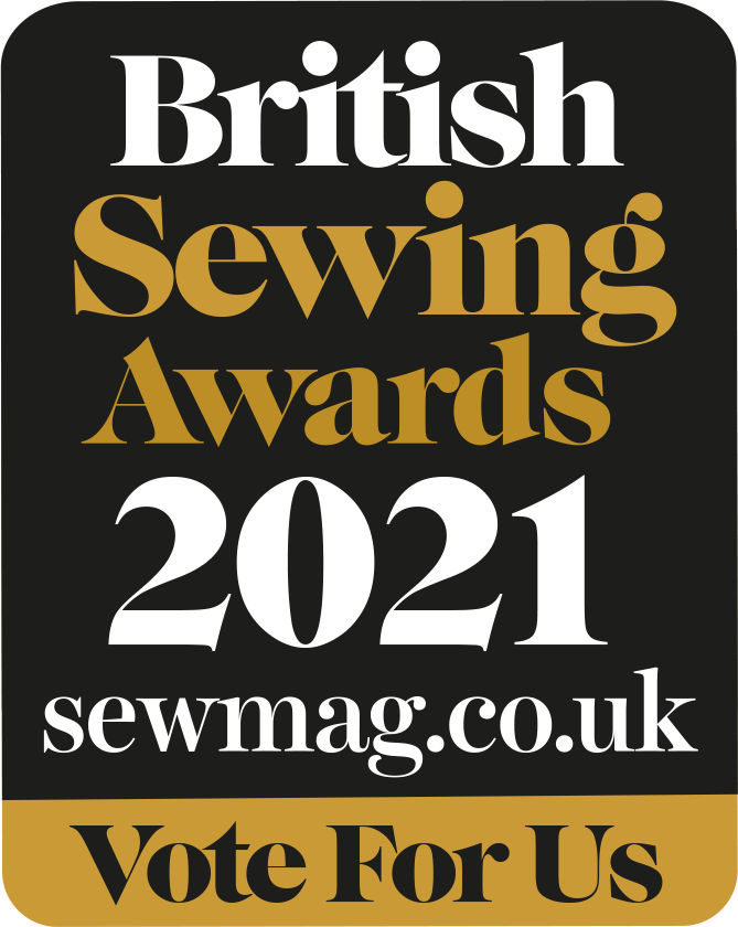 British Sewing Awards 2021 sewmag.co.uk Vote For Us link