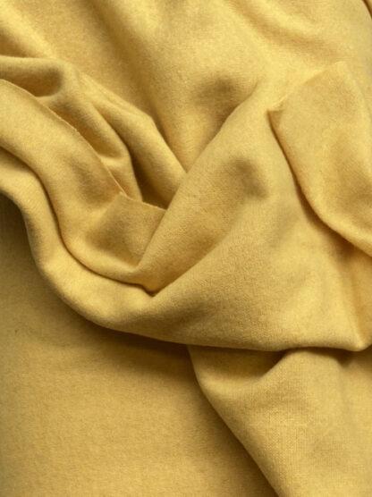 Sunny Corn Yellow 70% Wool 30% Polyamide medium weight jumper knit (lightly felted)