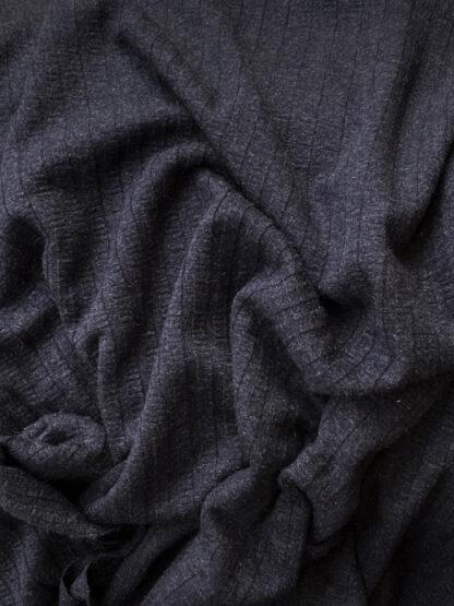 navy broad rib jersey jumper knit