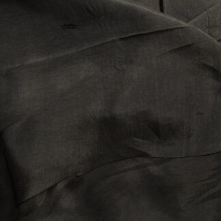 "Bem11874 Black Bemburg 100% Cupro ""bremsilk"" lightweight drapey breathable and anti-static Dress Lining"